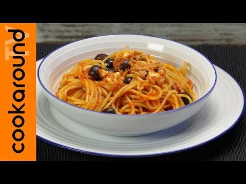 una caprese con spaghetti e tonno - ricetta