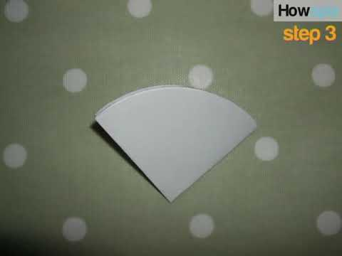 How to make paper snowflakes video