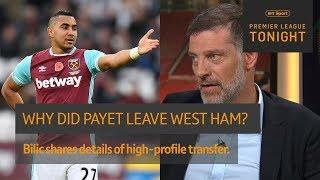 Slaven Bilic explains Dimitri Payet's departure from West Ham | Premier League Tonight
