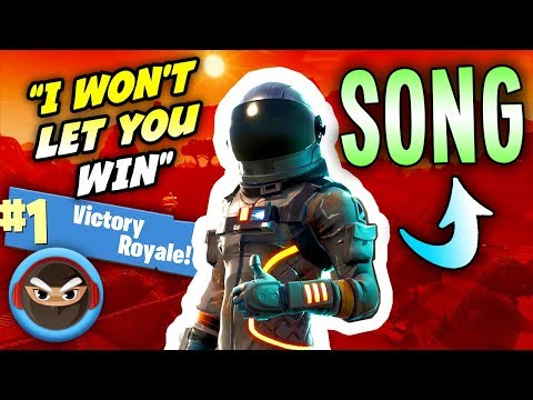 "Fortnite Song ""I Won't Let You Win"""