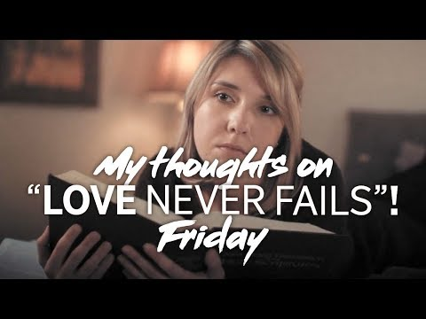 "My Thoughts On ""Love Never Fails""! Convention Of Jehovah's Witnesses - Friday"