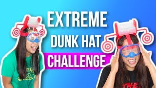 We take the dunk hat game to the next level in this EXTREME DUNK HAT CHALLENGE with FOOD!☆ PO Box / Fan Mail (If you want to send us something):Caleon Twins119-2927 Lakeshore Blvd. WestToronto, ON M8V 1J3♡♡ FOLLOW US ON SOCIAL MEDIA ♡♡☆ Instagram: http://www.instagram.com/caleontwins☆ Twitter: https://www.twitter.com/TheCaleonTwins☆ Facebook: https://www.facebook.com/caleontwins/☆ Snapchat: caleontwins - https://www.snapchat.com/add/caleontwins☆ Musical.ly: @caleontwins  @madeleinexc @samcaleon☆ YouNow: www.younow.com/CaleonTwins☆ Shimmur: Caleon TwinsOur Faves:☆ PopSockets (Get $2 off): http://popsockets.refr.cc/VHBZ3HH☆ Because Of A Case - Phone Cases (Get 15% off) : http://www.becauseofacase.com?rfsn=289178.f2f8d*these are affiliate linksFAQ:What is your ethnicity? We are filipino! Born in the Philippines but raised in Canada!How old are you? We are 21!What do you use to edit: iMovie or Final Cut ProWhat Camera do we use? Canon T5i and Canon G7x mark ii (For vlogging)FOR BUSINESS INQUIRIES: caleontwins@gmail.comFTC: This video is not sponsored.