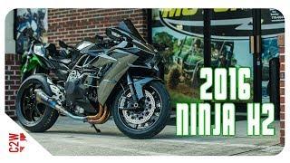 1. 2016 Kawasaki Ninja H2 | First Ride