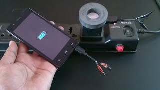 Phone Charger Convert Into Wireless Charger