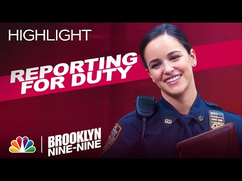 Amy's First Day as Sergeant - Brooklyn Nine-Nine