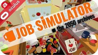 BETTER CHEF THAN GORDON RAMSAY!!! - JOB SIMULATOR VR GAMEPLAY - Oculus Rift Touch VR Games