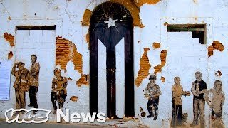 Street art in Puerto Rico has long channeled widespread frustrations about the island's century-long status as a U.S. territory. The work of La Puerta is one such ...