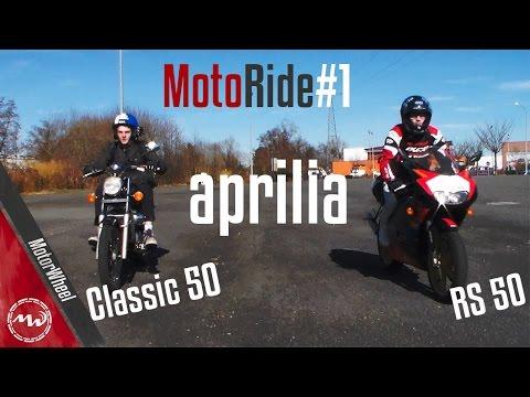 MotoRide#1 | Aprilia RS 50 - Aprilia Classic 50