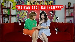 "Download Video Rakry dan Indy ""Baikan atau balikan?"" Part 1 MP3 3GP MP4"