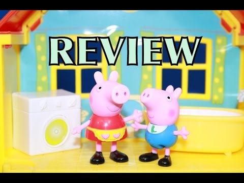 peek - AllToyCollector PEPPA PIG Peek N Surprise Playhouse Toy Review. Peppa Pig and her brother George and 15 fun flip surprise toys are included in this peppa pig house. I rate this toy a 5 out...