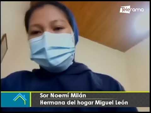 Adultos mayores de los hogares Miguel León y Cristo Rey en Cuenca fueron vacunados