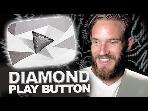 THE DIAMOND PLAY BUTTON!! (Part 1)