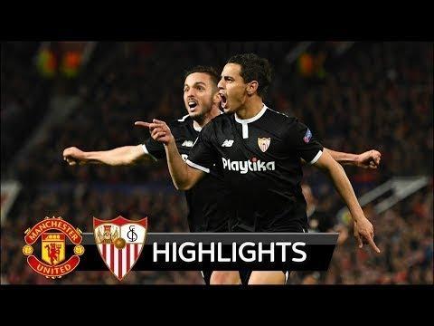 Manchester United vs Sevilla 1-2 UCL -All Goals Highlights 13/03/2018 HD by verteX sporTsFH