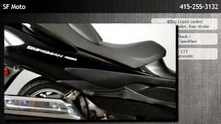 3. 2008 Suzuki Burgman 400 San Francisco Scooter  - Market