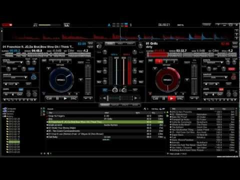How to mix hip hop, how to use transitions, Virtual DJ 7 tutorial