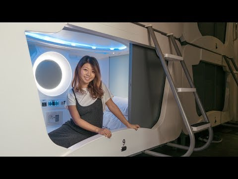Capsule Hotel Experience in Taiwan