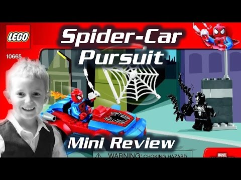 LEGO Juniors Spider-Car Pursuit (10665) - Review by TedTube