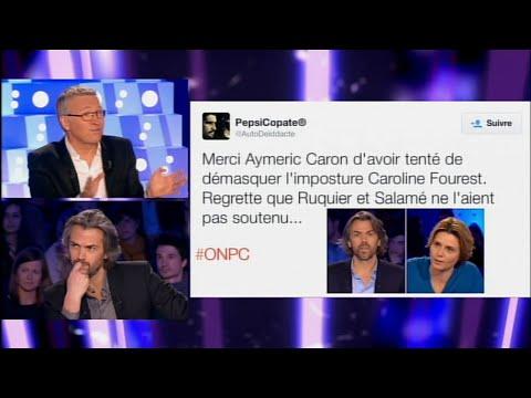 "Laurent Ruquier: ""Je n'inviterai plus jamais Caroline Fourest sur ce plateau !"" #ONPC"
