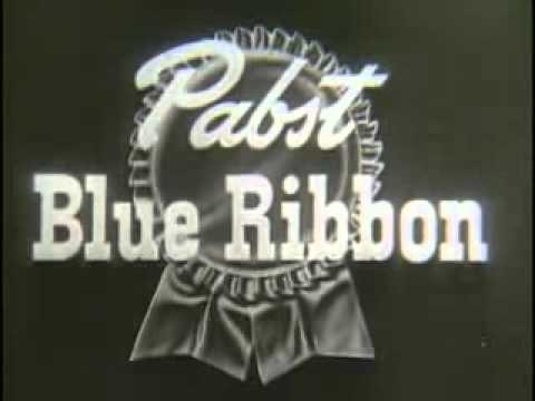 Pabst Blue Ribbon Beer Vintage Commercial What'll You Have