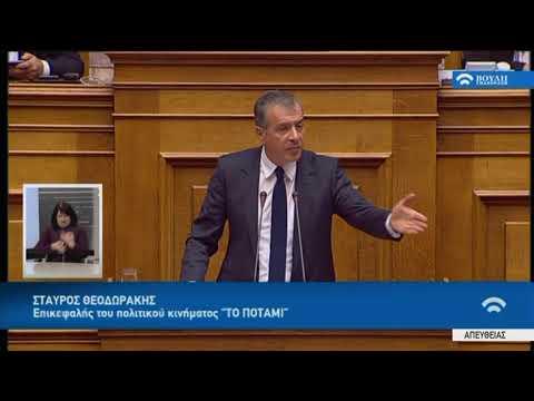 Σ.Θεοδωράκης (Επικεφαλής ΠΟΤΑΜΙ)(Διανομή Κοινωνικού Μερίσματος)(20/11/2017)