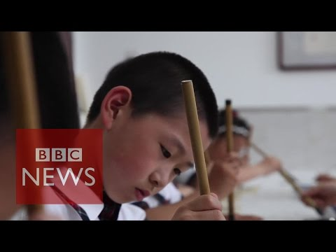 Children - Along with gunpowder and paper, many people in China consider the creation of calligraphy to be one of their primary contributions to civilisation. But is Chinese handwriting becoming a relic...