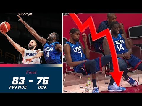 Team USA Basketball Loses Opener, STUNNED By France!   PATHETIC Loss, First Since 2004 Olympics!