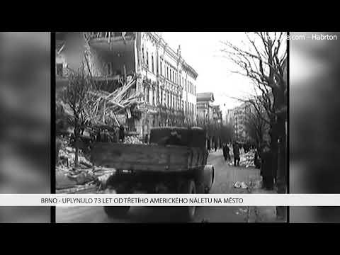 TV Brno 1: 19.12.2017 Uplynulo 73 let od třetího amerického náletu na město