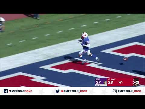 2019 American Football Highlights - ECU vs SMU