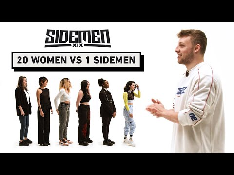 20 WOMEN VS 1 SIDEMEN: HARRY EDITION