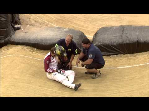 to the stage - Strombergs out at Semi Final Stage - 2014 BMX World Championships. This is a clip from the 2014 UCI BMX World Championships that were held in Rotterdam, the Netherlands on 27th July 2014....