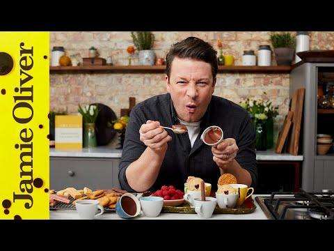 Super Fast Chocolate Pots  | Jamie Oliver 😍😍😍