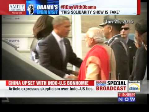 China - Subscribe Now To Our Network Channels :- Times Now : http://goo.gl/U9ibPb The NewsHour Debate : http://goo.gl/LfNgFF ET Now : http://goo.gl/5XreUq The Modi-Obama bonhomie is not going down...