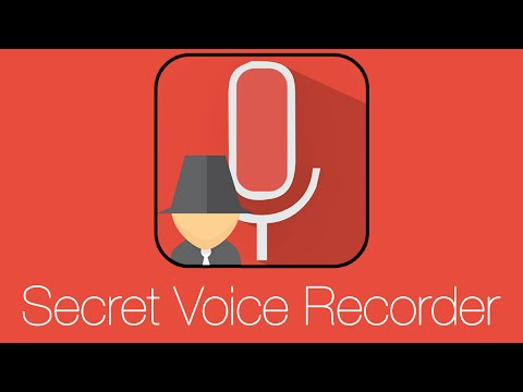 Video of Secret Voice Recorder