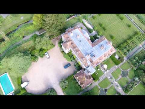Drone Footage   Heale House, Middle Woodford, Salisbury