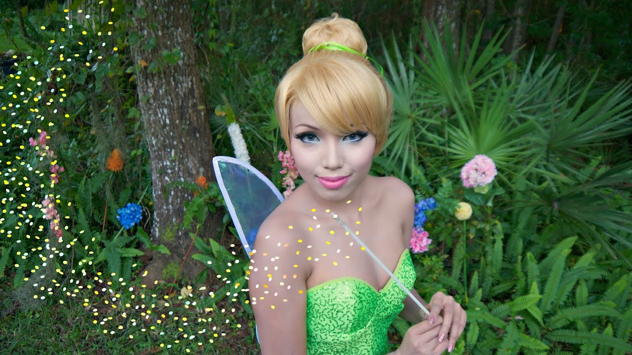TINKER BELL ♥ Make-up FANTASIA per diventare Trilly ♥ VIDEOTUTORIAL
