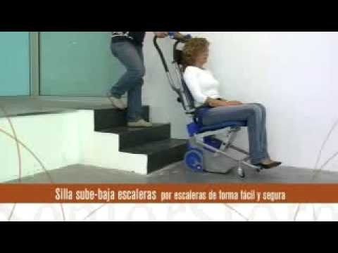 Silla Salva Escaleras Eléctrica Transportable