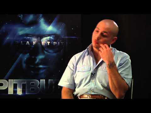 planet pit - Pitbull talks to HitFix's Melinda Newman.