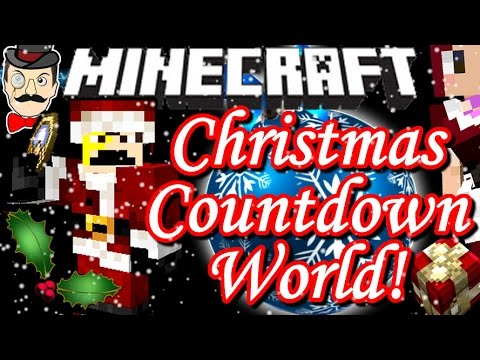 Minecraft CHRISTMAS COUNTDOWN World! Festive Secrets & Surprises!