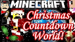 Minecraft CHRISTMAS COUNTDOWN World! Festive Secrets&Surprises!
