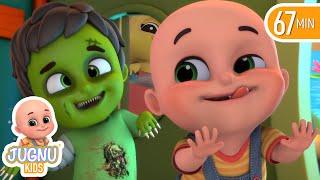 Video Haunted House & Halloween song for children | Finger Family | Nursery Rhymes from Jugnu kids MP3, 3GP, MP4, WEBM, AVI, FLV November 2017