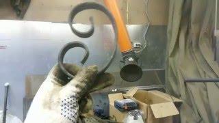 Универсальный станок для ковки Blacksmith UNV3-02 пробный запуск, часть 2