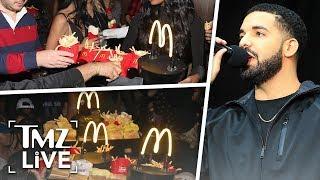 Drake's McDonald's Surprise! | TMZ Live