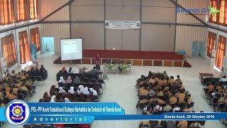 POL–PP Aceh Sosialisasi Bahaya Narkotika ke Sekolah di Banda Aceh