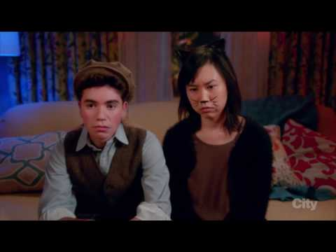 gay halloween party - The Real O'Neals (tv series)