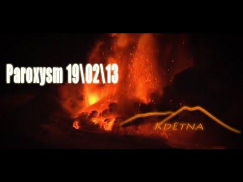 Watch: Mount Etna's February 19 Eruption