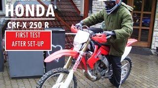 6. Honda CRF250X   I.