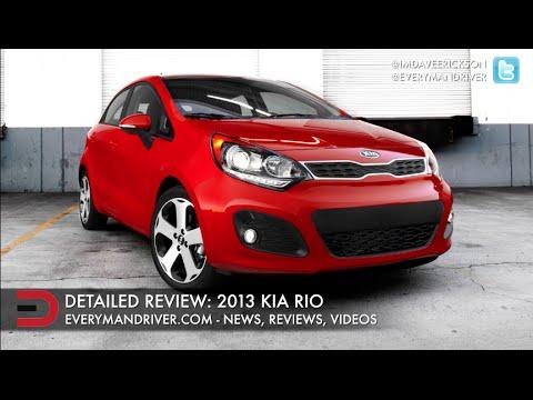 2013 Kia Rio | New Car Review | on Everyman Driver