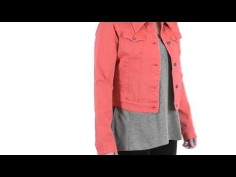 Stetson Shrunken-Fit Jean Jacket (For Women)
