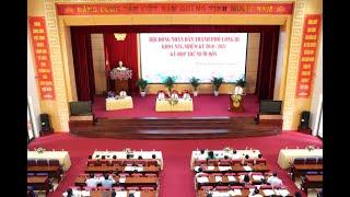 Kỳ họp XIV, HĐND TP Uông Bí khóa XIX