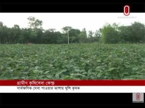 Krishi Sheba Kendra kicks off in Sherpur  (15-12-18) Courtesy: Independent TV